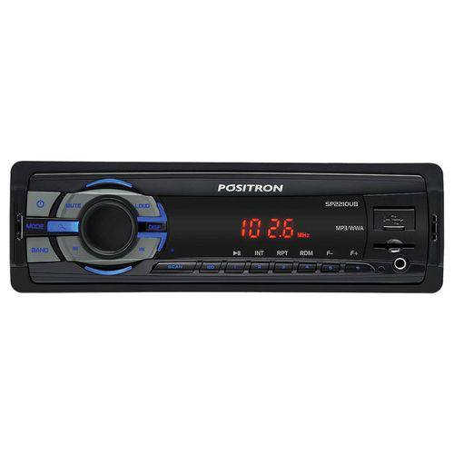Auto Radio Positron Sp-2210UB USB/ Sd Card/ MP3/ Wma/ Auxilar