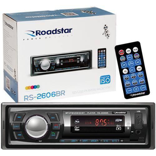 Auto Radio Roadstar RS2606BR Bluetooth Mp3 FM USB
