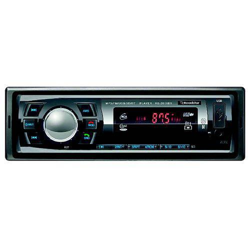Auto Rádio Roadstar Rs2606br Bt/fm/sd/aux 4x25rms