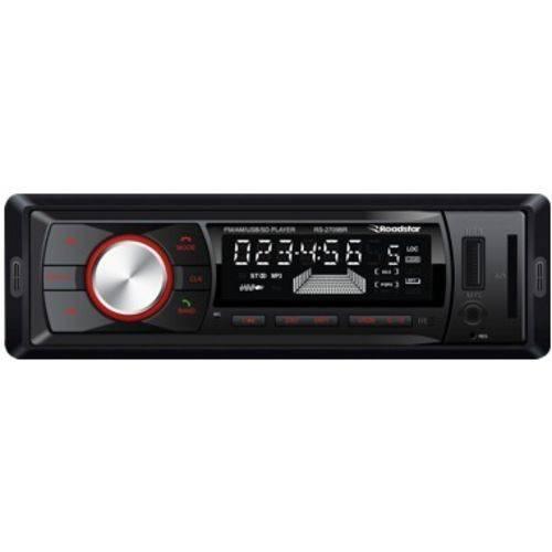 Auto Rádio Som Automotivo Roadstar Rs2709br Sd Aux USB Mp3