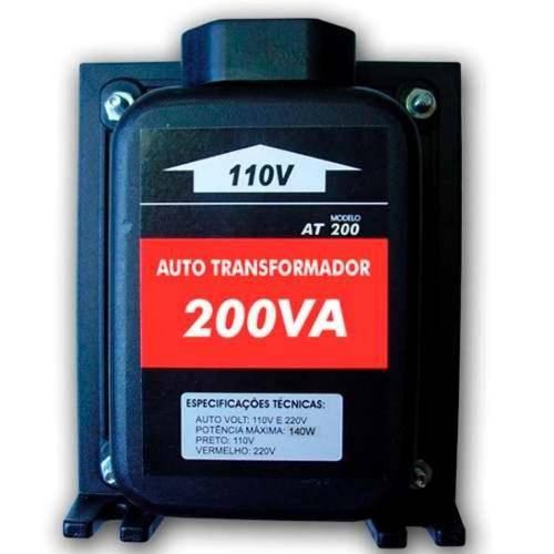 Auto Transformador de Voltagem 200va - 140w