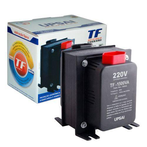 Auto Transformador de Voltagem 1500va Automático Bivolt 110v 220v ou 220v 110v Upsai 51000150
