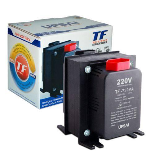Auto Transformador de Voltagem 750va Automático Bivolt 110v 220v ou 220v 110v Upsai 51000075