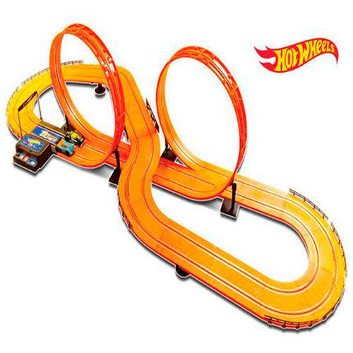 Autorama Hot Wheels Track Set 6,32 M de Pista Deluxe Multikids