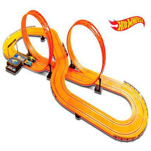 Autorama Pista com 632cm Hot Wheels Track Set Deluxe Br083