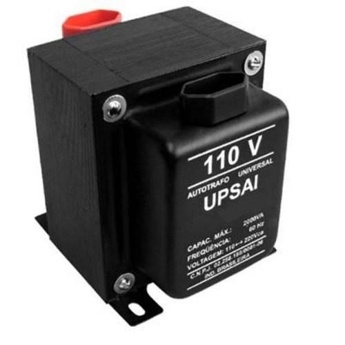 Autotransformador Bivolt 110/0v e 0/110v Upsai