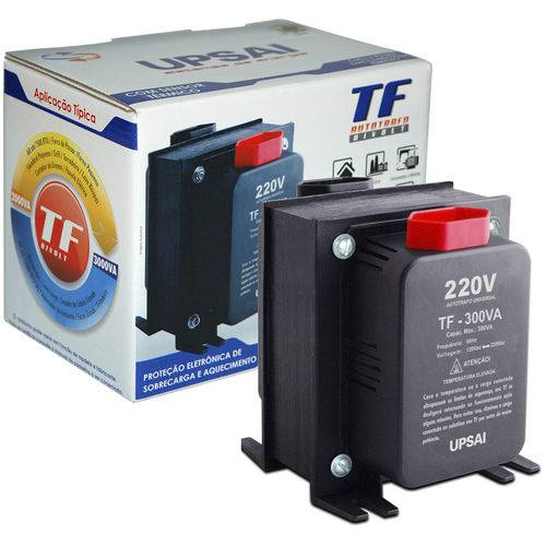 Autotransformador Tf-300 com Sensor Térmico 51000030 Upsai