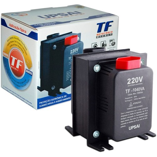 Autotransformador TF-1040 com Sensor Térmico 51000104 UPSAI