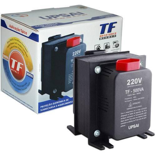 Autotransformador Tf-500 com Sensor Térmico 51000050 Upsai