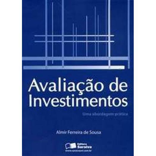 Avaliacao de Investimentos - Saraiva