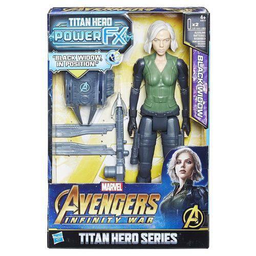 Avengers Power Pack Star Viuva Negra E0614