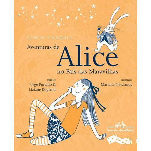 Aventuras de Alice no Pais das Maravilhas - Cia das Letrinhas