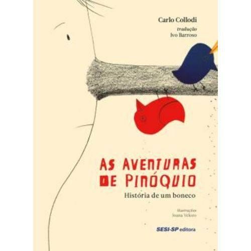 Aventuras de Pinoquio, as - Historia de um Boneco