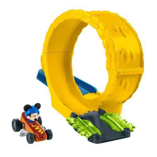Aventuras Sobre Rodas Pistas Radicais Mustard Run Mickey Mouse - Mattel