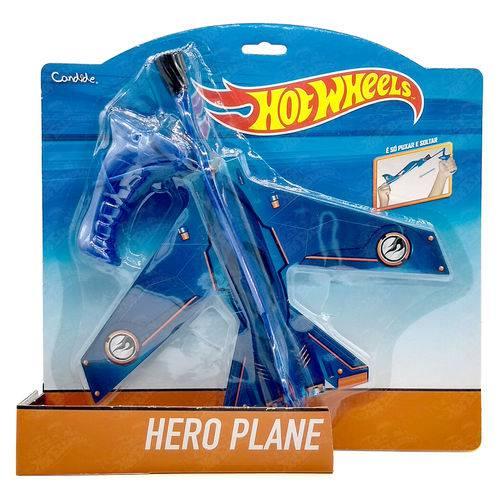 Avião Estilingue Hero Plane Hot Wheels