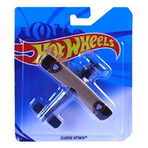 Avião Hot Wheels - Classic Atack - Mattel