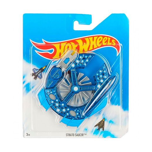 Avião Hot Wheels Skybusters Strato Saucer - Mattel