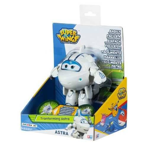 Avião Transforme Super Wings - Change Up Astra- Fun