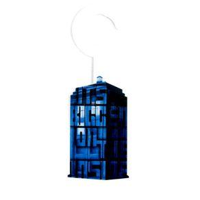 Aviso de Porta Cabine Doctor Who