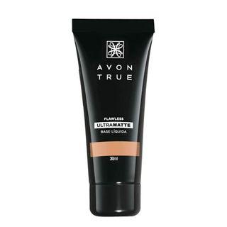 Avon True Base Ultramatte 30ml - Bege Escuro
