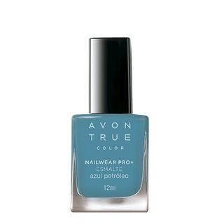 Avon True Color Nailwear Pro+ Esmalte - Azul Petróleo