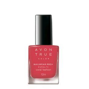 Avon True Color Nailwear Pro+ Esmalte - Coral Fashion