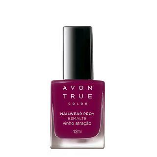 Avon True Color Nailwear Pro+ Esmalte - Vinho Atração