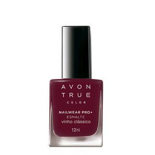 Avon True Color Nailwear Pro+ Esmalte - Vinho Clássico