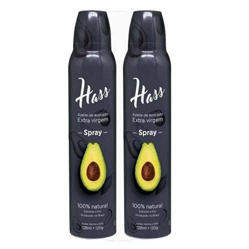 2 Azeite Hass 128 Ml Cada Spray Óleo de Abacate Avocado