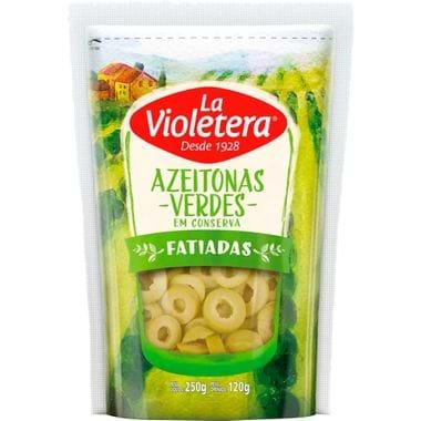 Azeitona Verde Fatiada La Violetera 120g
