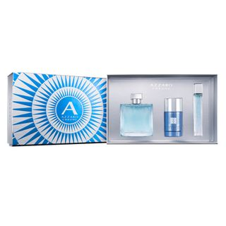 Azzaro Chrome Eau de Toilette Azzaro Kit - Perfume Masculino + Miniatura + Desodorante Kit