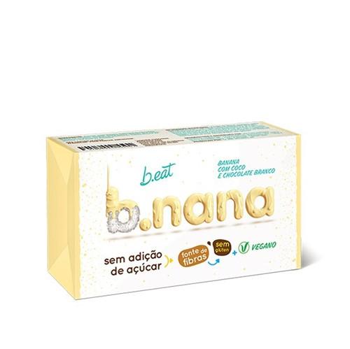 B.nana Coco com Chocolate Branco Pack 3 Unidades 35g - B Eat
