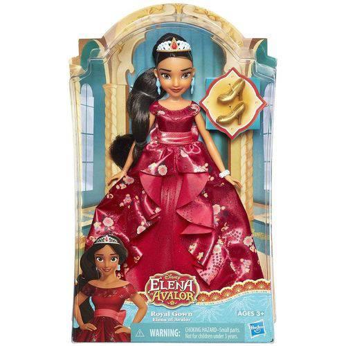 B7370 Disney Princesas Princesas Boneca Elena Vestido Real