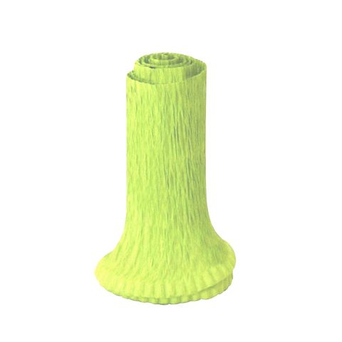 Babado Crepom Verde Limão 1 2m - Laleti