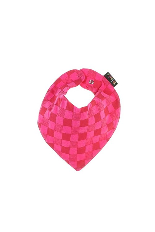 Babador Bebê Bandeira U - Rosa Pink
