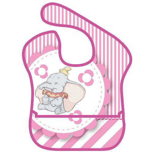 Babador com Bolso Frontal - Dumbo - Disney - Girotondo Baby