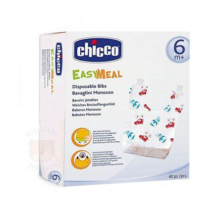 Babador Descartável Easy Meal 40 Unidades (6m+) - Chicco