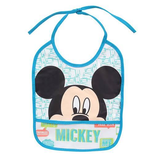 Babador Masculino Amarrar Azul Claro Mickey