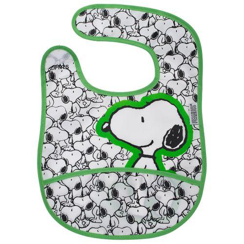 Babador Snoopy Verde - UNICO