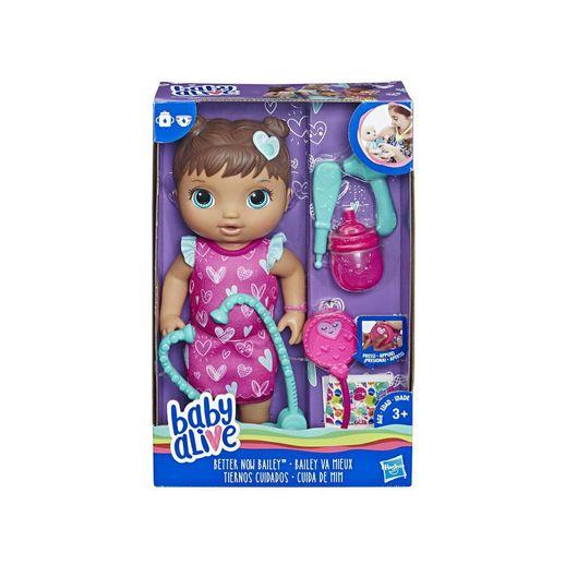 Baby Alive Cuida de Mim Morena - Hasbro