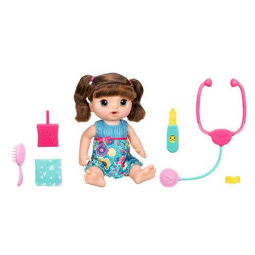 Baby Alive Doces Lágrimas Morena - Hasbro