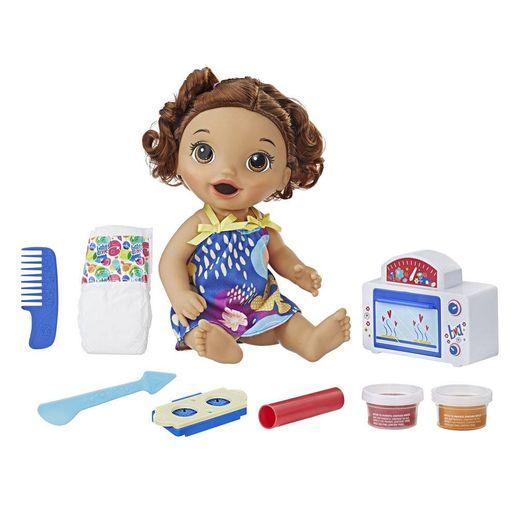 Baby Alive Morena Meu Forninho - Hasbro