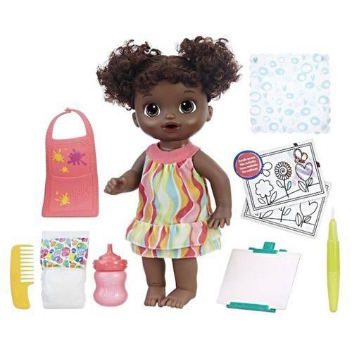 Baby Alive Pequena Artista - Negra Hasbro