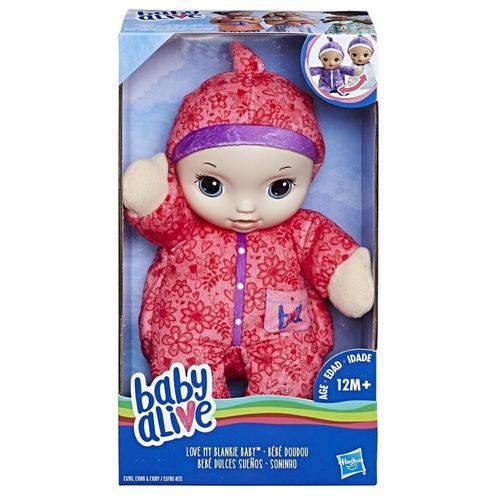Baby Alive Soninho - ROUPA ROSA - Hasbro E0780
