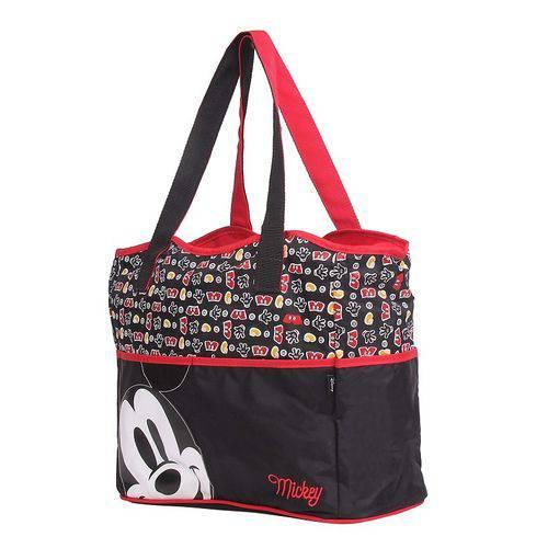 Baby Bag Bolsa Mickey com Trocador