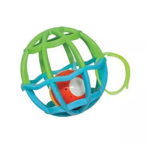 Baby Ball com Luz e Som Azul e Verde - Buba
