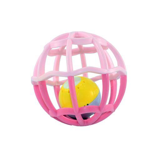 Baby Ball Luz e Som Rosa - Buba