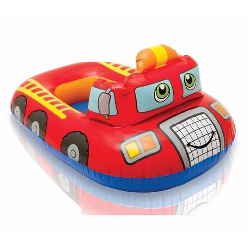 Baby Bote Inflável Kiddie - Bombeiro - INTEX