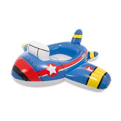Baby Bote Kiddie Avião Intex