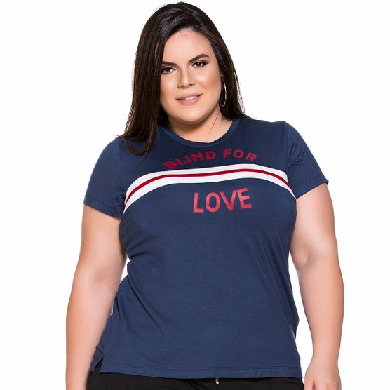 Baby Look Blind For Love Plus Size M